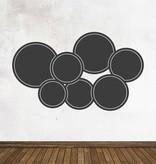 Autocollant tableau noir Calendrier Moderne 1