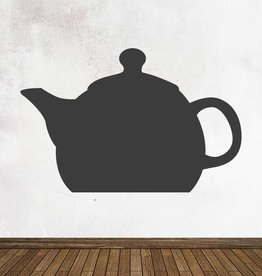 Black board Kitchen Teapot Sticker