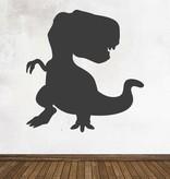 Black board Fantasy Dinosaur Sticker
