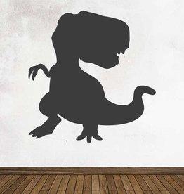 Pegatina pizarra fantasía dinosaurio