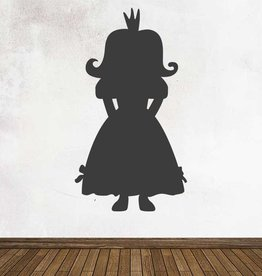 Black board Fantasy Princess Sticker