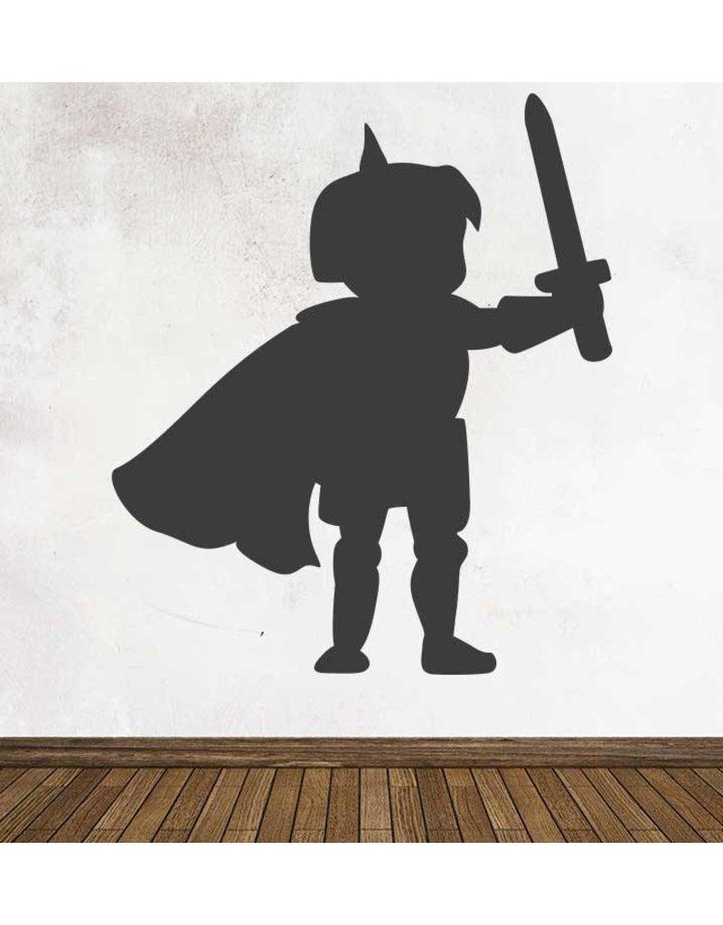 Schoolbord Fantasy Ridder Sticker