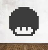 Schoolbord Retro Level Up Sticker
