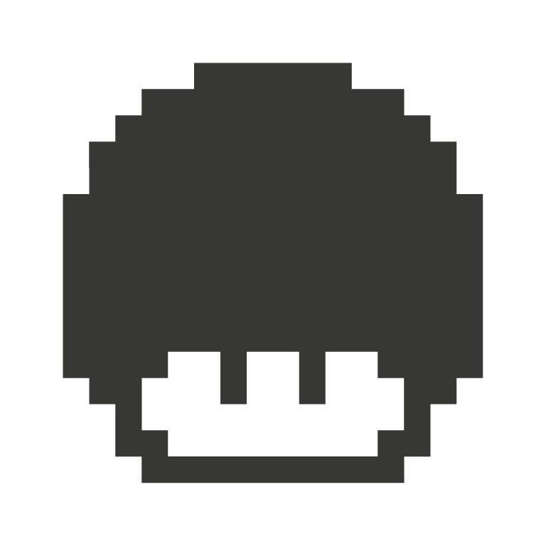 Black board Retro Level Up Sticker
