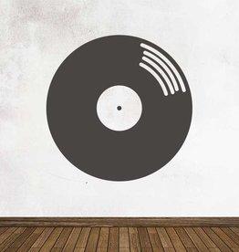 Autocollant tableau noir Rétro LP