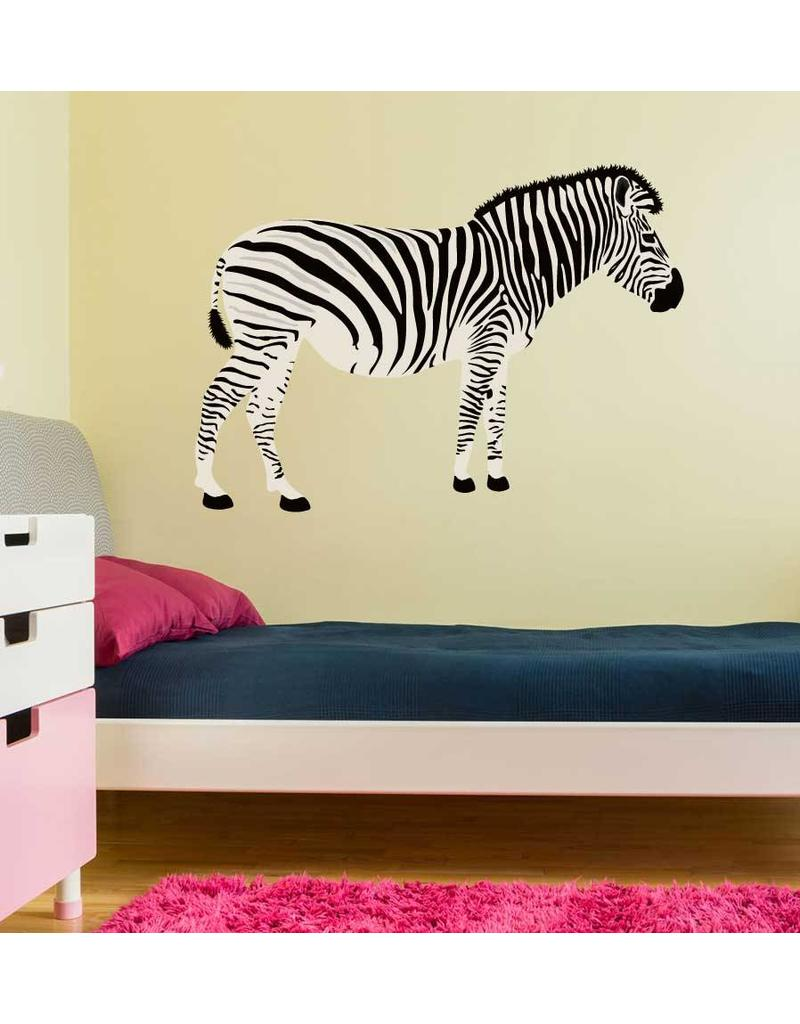 Zebra side view Sticker