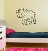 Rhino 1 Sticker