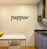 Pepper Letter Stickers