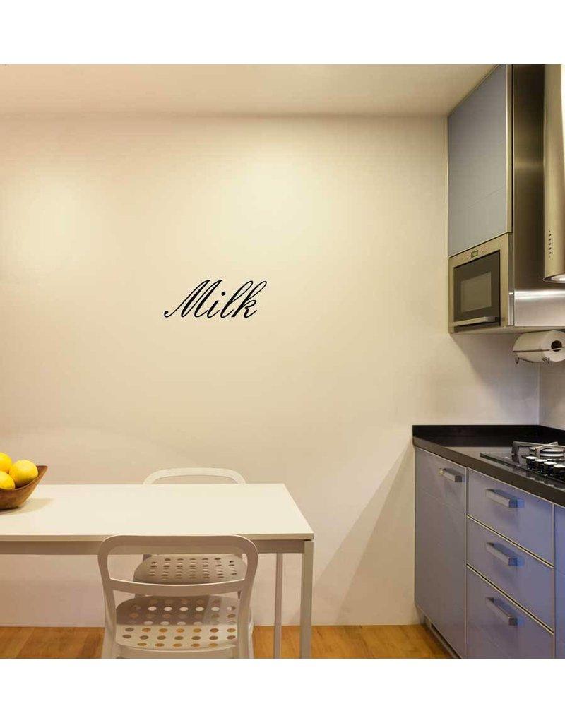 Milk lettres adhésives