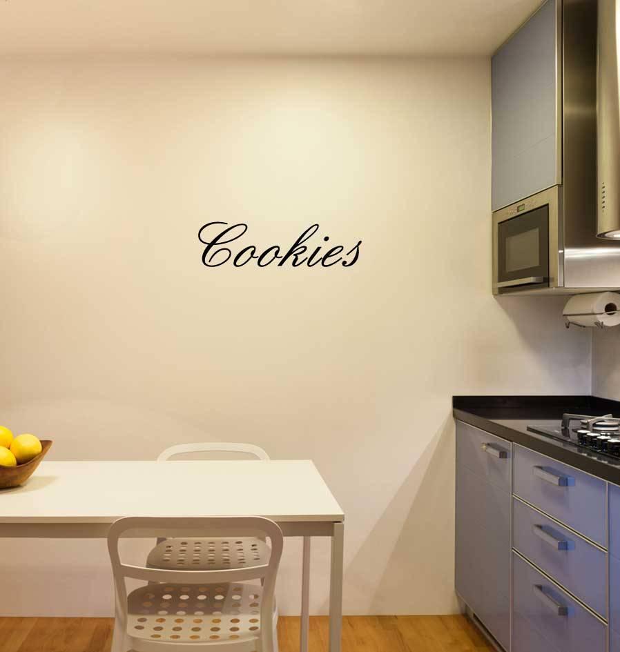 Cookies Klebebuchstaben