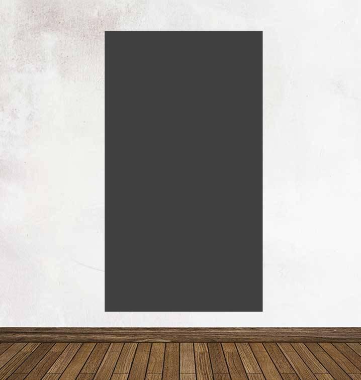 Black board figures Beam Sticker