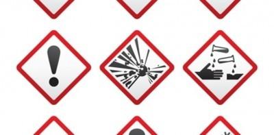 Etikettering chemische producten aangepast