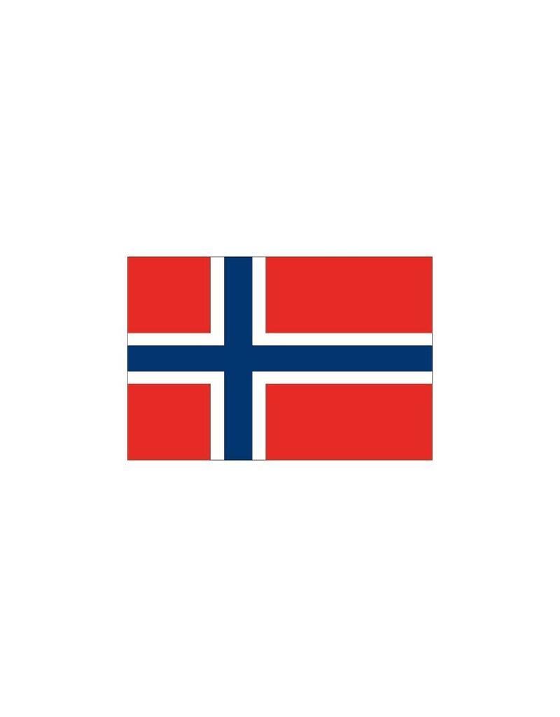 Noruega pegatina de la bandera