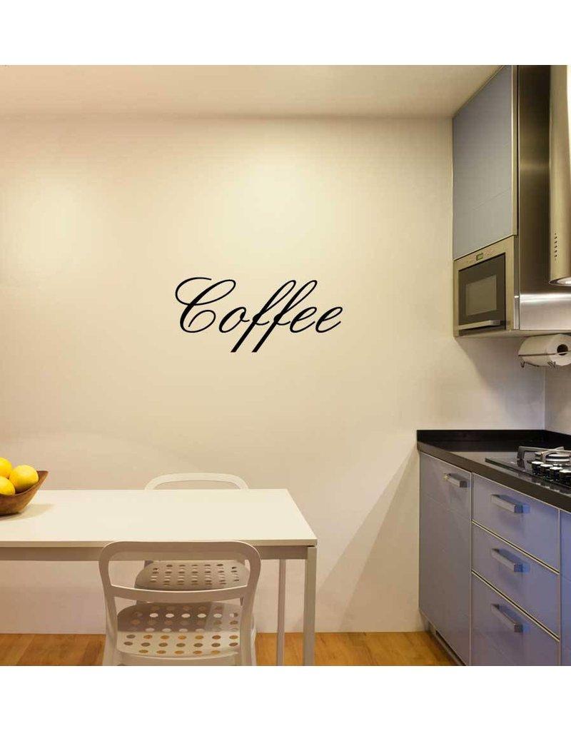 Coffee lettres adhésives