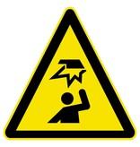 Gust Autocollant Danger