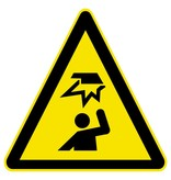 Gust Gefahr Aufkleber