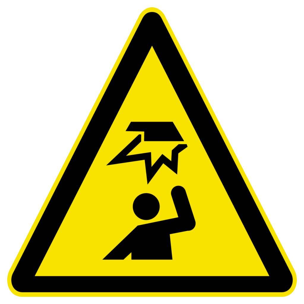 Gust Danger Sticker
