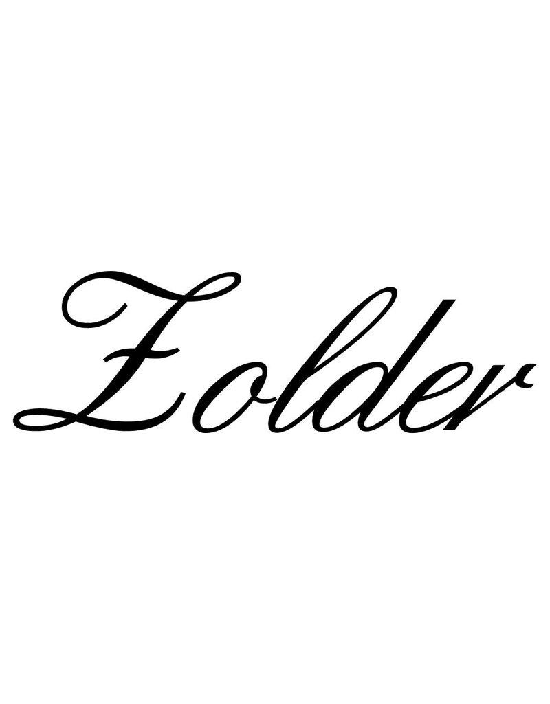 Texte néerlandais:  ''Zolder'' lettres adhésives