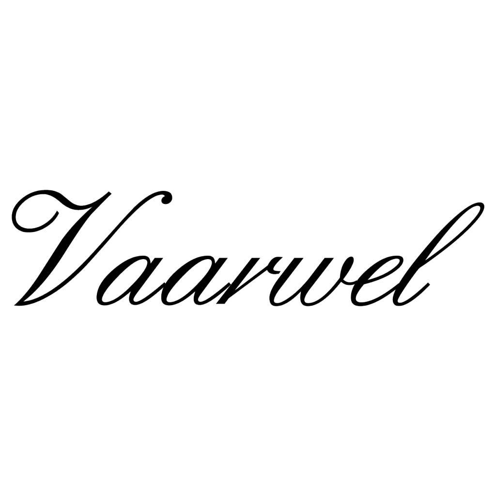 Texte néerlandais:  ''Vaarwel'' lettres adhésives