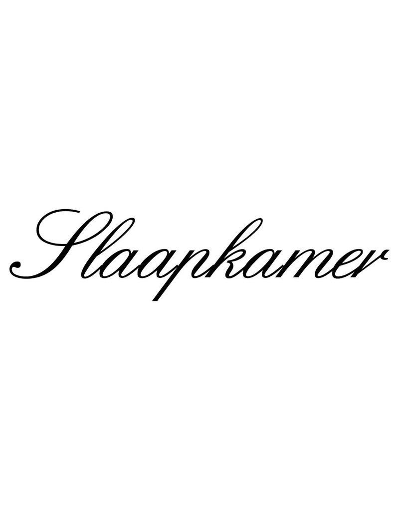 Dutch text: ''Slaapkamer''