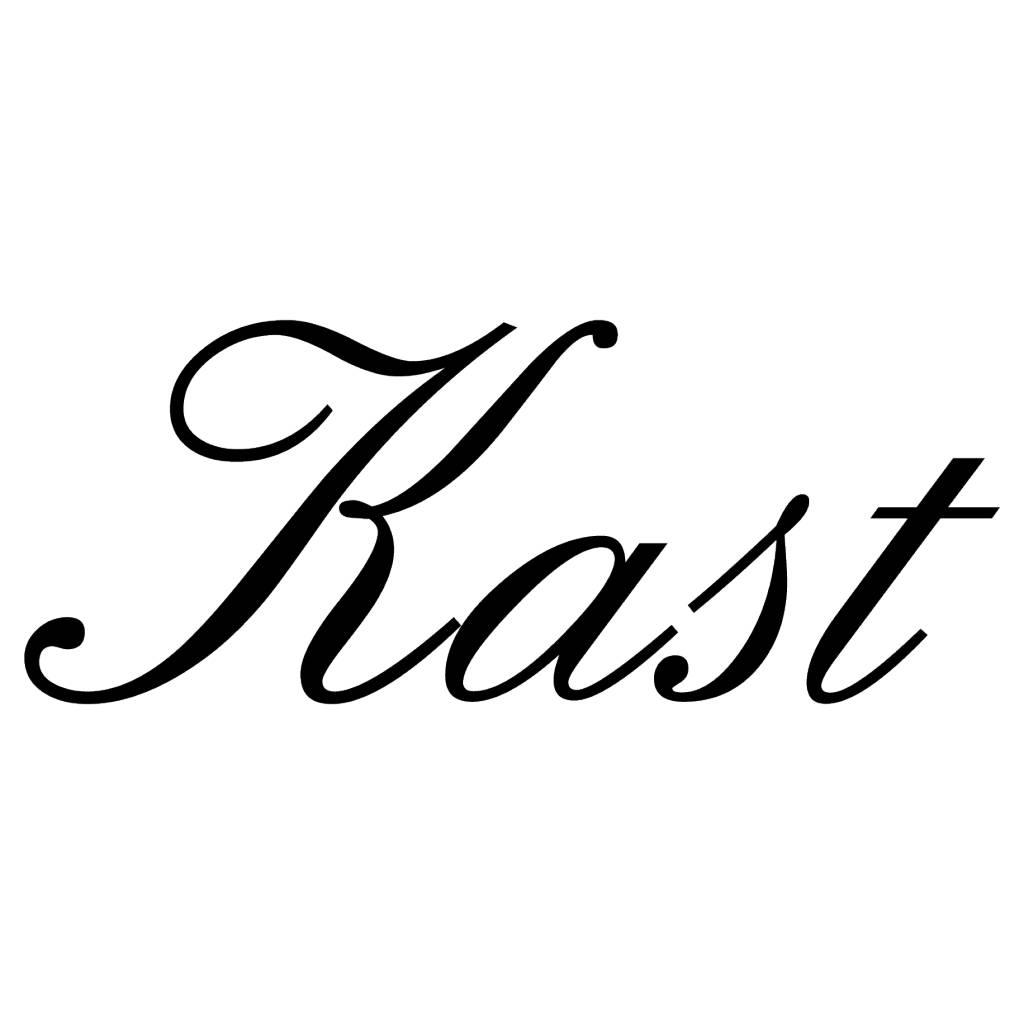 Texte néerlandais: ''Kast'' lettres adhésives