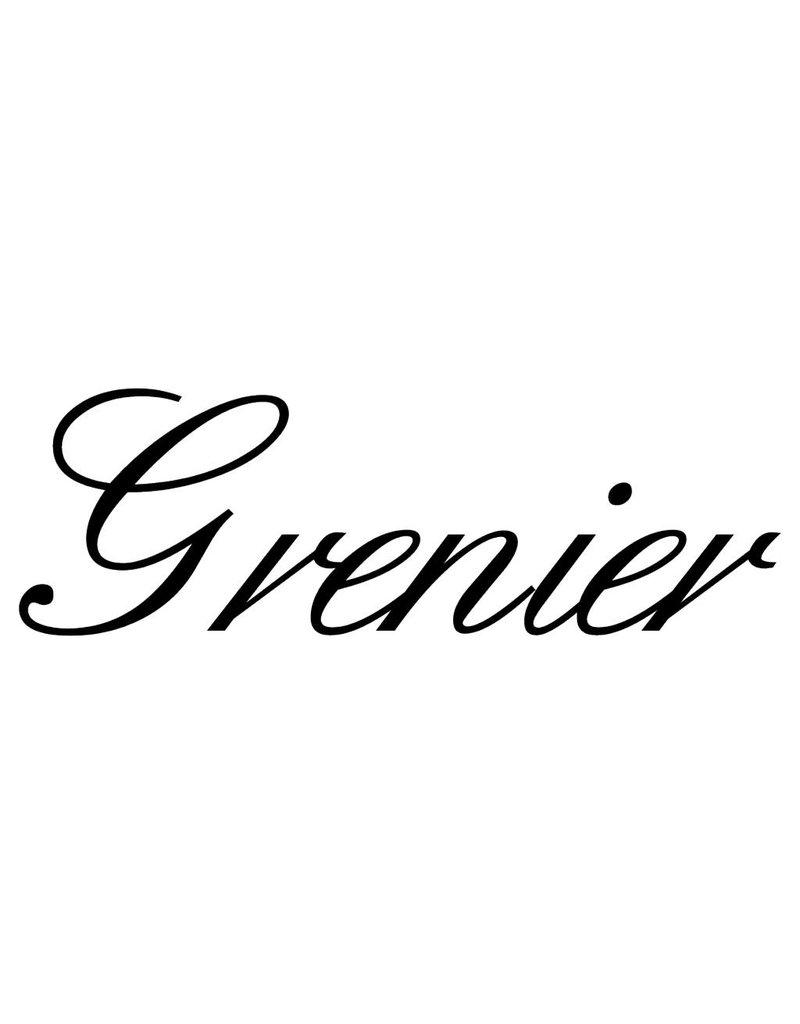 Texte français: ''Grenier'' lettres adhésives