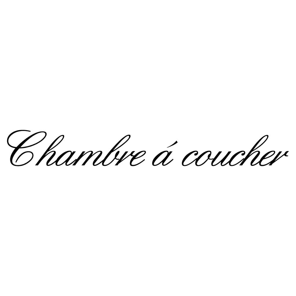 Texto en francés: ''Chambre''