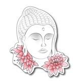 Bouddha avec des fleurs
