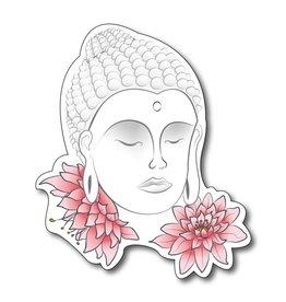 Buddha mit Blumen