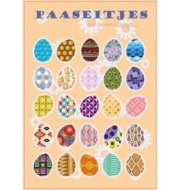 Pegatinas huevos de Pascua