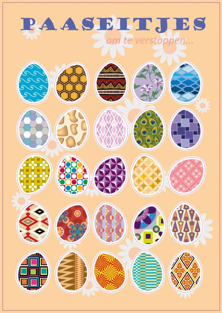 Œufs de Pâques autocollants