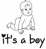 Baby blau Sticker