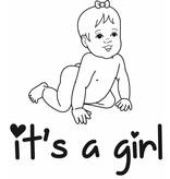 Baby pink Sticker