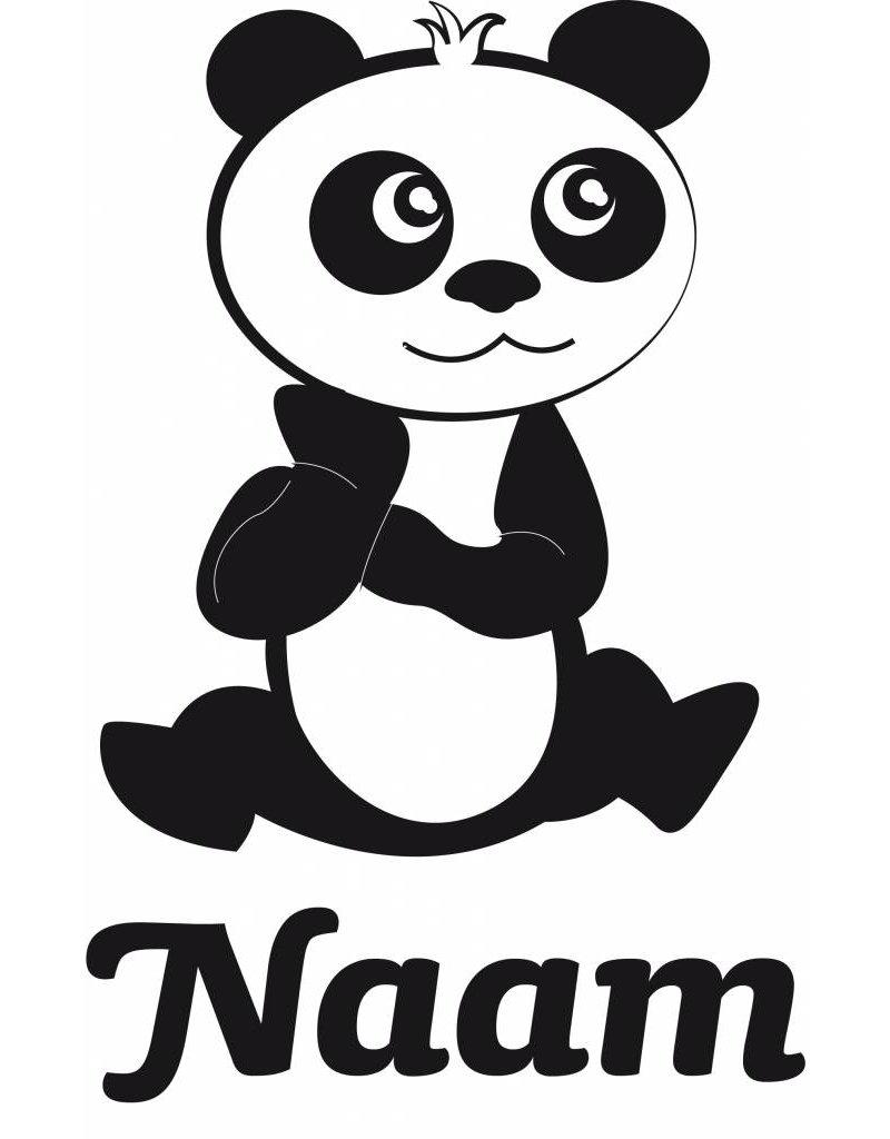Panda blue Sticker