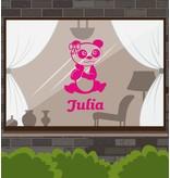 Pandabär rosa Sticker