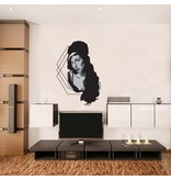 Wandaufkleber Amy Winehouse