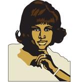 Wandaufkleber Aretha Franklin