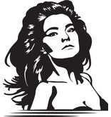 Etiqueta de la pared Björk