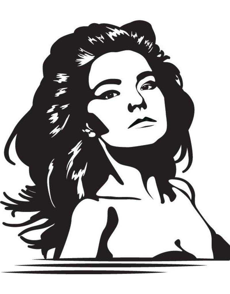 Wandaufkleber Björk