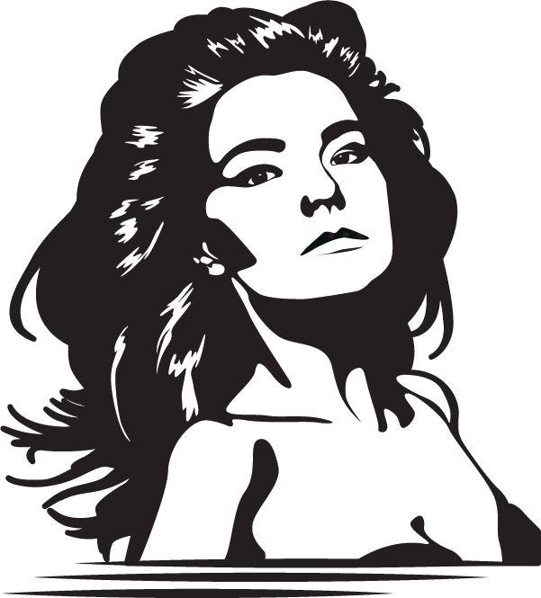Muursticker Björk