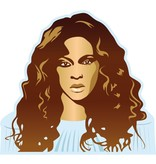 Autocollant Mural Beyoncé