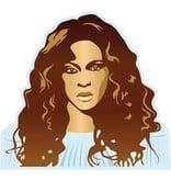 Wandaufkleber Beyoncé