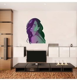 Wall Sticker Rihanna