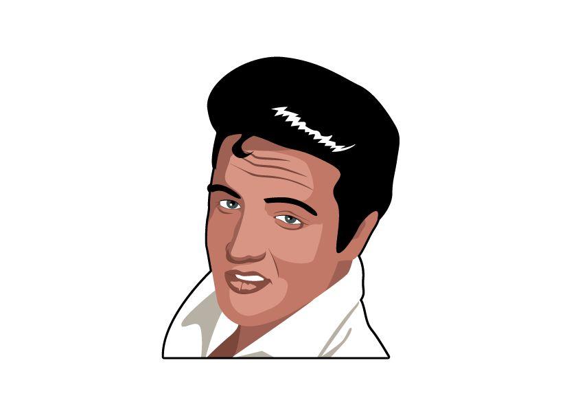 Vinilos decorativos Elvis