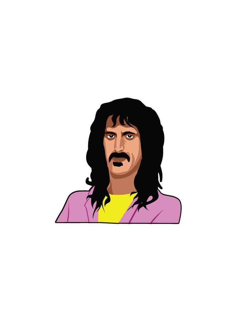 Wall Sticker Frank Zappa