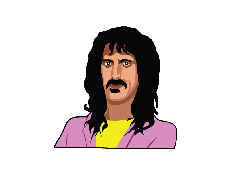 Wall Sticker Frank Zappa