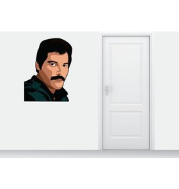 Muursticker Freddy Mercury