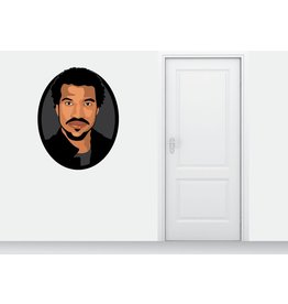 Wall Sticker Lionel Richie circle