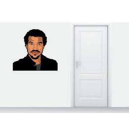 etiqueta de la pared