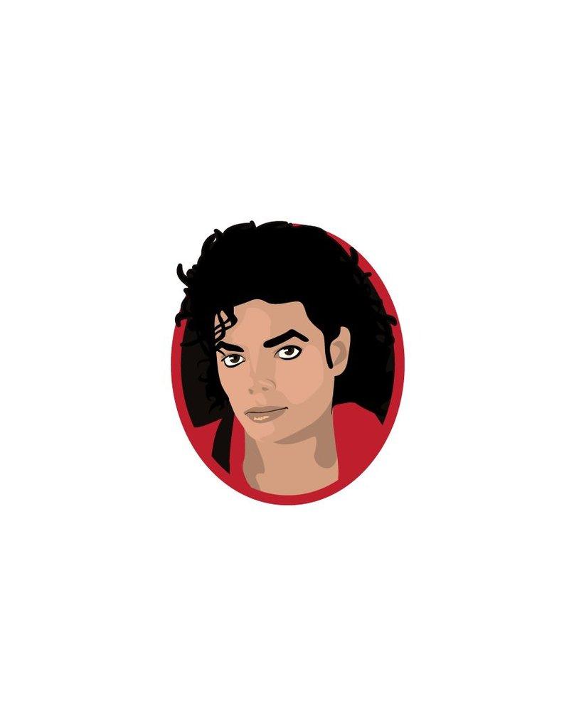 cercle Autocollant Mural Michael Jackson